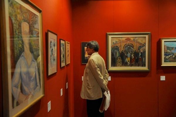 """La Mostra """"Maurizio Valenzi. Arte e Politica"""" Novembre 2012"""