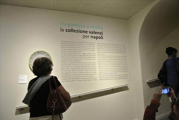 """Grande successo del vernissage """"Da Guttuso a Matta. La Collezione Valenzi per Napoli"""" Ottobre 2013"""