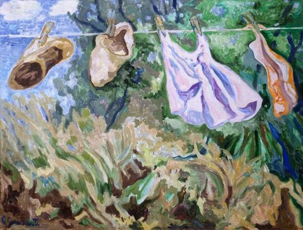 """Inaugurazione della mostra """"La pittura come vita"""" di Guido Sacerdoti Maggio 2014"""