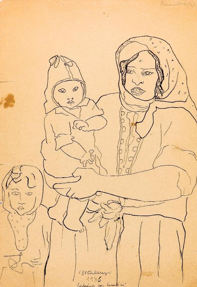 Beduina-con-bambini-