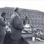Con Enrico Berlinguer a Piazza Plebiscito - 1976