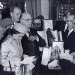 Con la Regina Elisabetta 1980