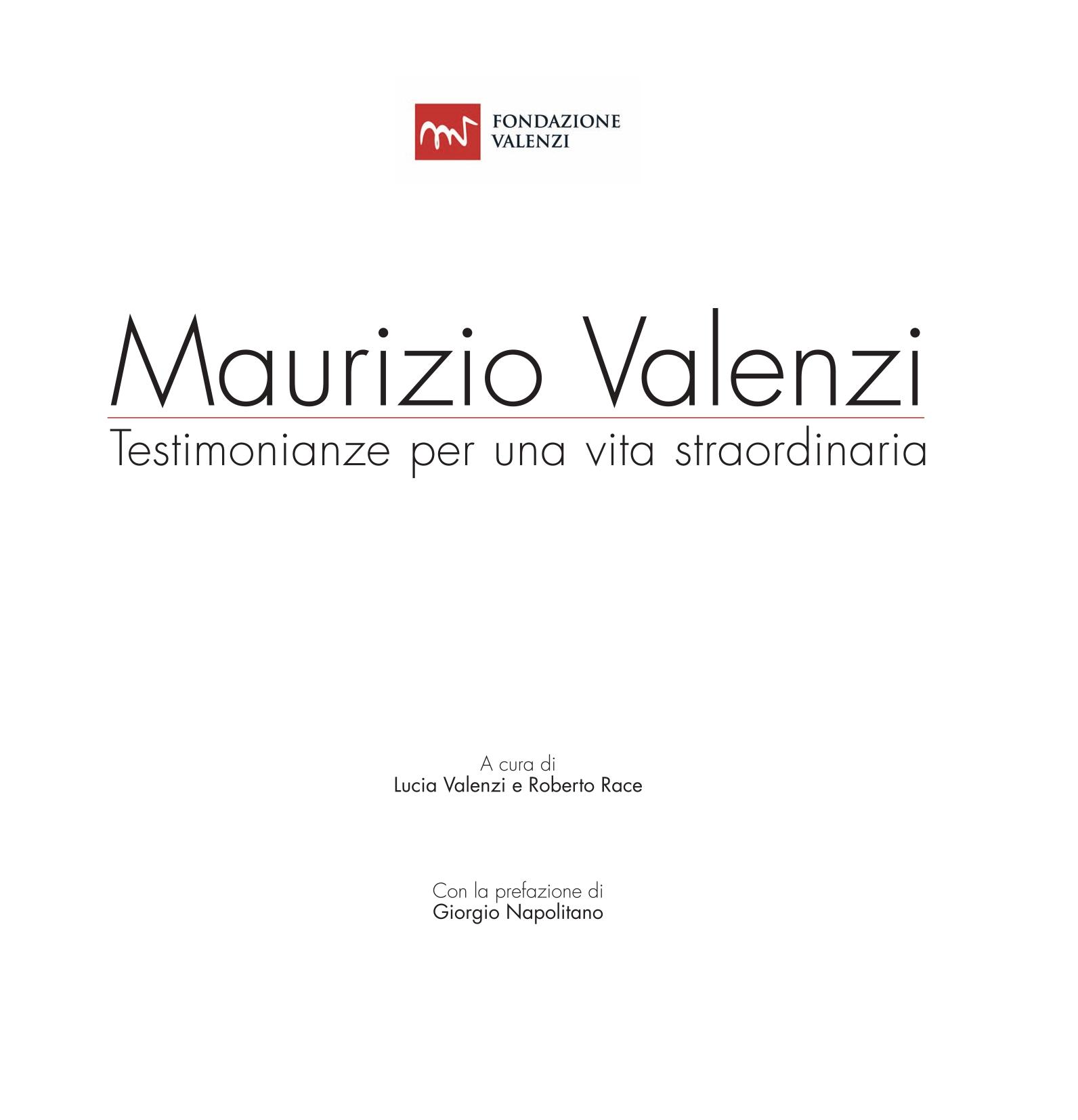 Maurizio Valenzi Testomonianze