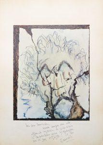 Eduardo De Filippo - Autoritratto, s.d., litografia, mm 690x490